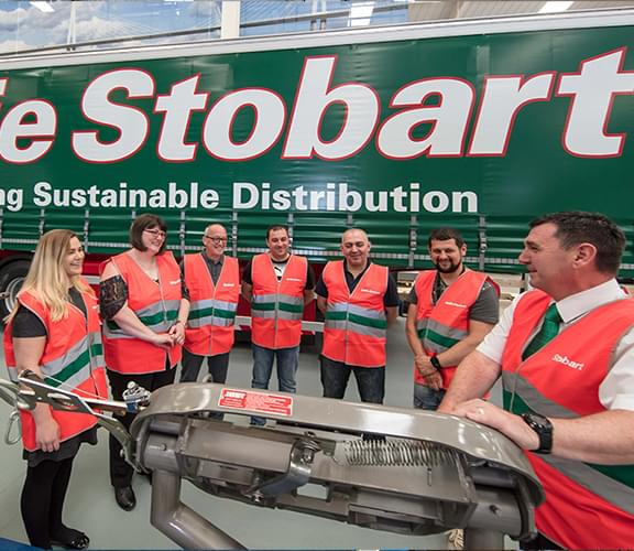 Logistics training at Eddie Stobart