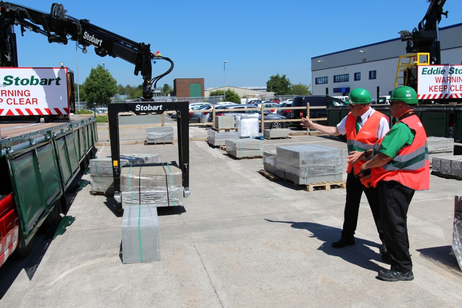 Accredited crane training at the Eddie Stobart Training Academy